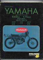 Yamaha Trail Bikes AT LT CT (1971-1973) Cycleserv Shop Manual Repair Book CZ94