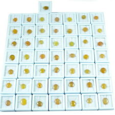 Natural Yellow Ceylon Sapphire 50 Pieces Parcel Lot Loose Collector Pieces #