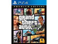 Grand Theft Auto V Premium Online Edition (Sony Playstation 4, 2014)