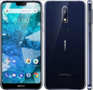 Android Nokia 7.1 Single SIM 4G LTE 32GB ROM 3GB RAM Smart Phone Original 12MP