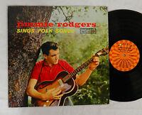"JIMMIE RODGERS "" SINGS FOLK SONGS""  ROULETTE RECORD ALBUM LP"