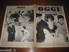 OGGI=1962/17=CLAUDIA CARDINALE=MARIO LEPORE=NICO BUONO=GIOVENO=TRINO=GIOVENO=