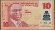 TWN - NIGERIA 39a1 - 10 Naira 2009 UNC POLYMER DEALERS x 5