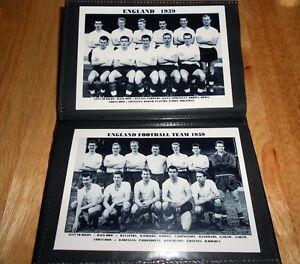 ENGLAND FOOTBALL TEAM PHOTO ALBUM (1950's/1960's++++ )