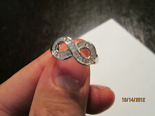 RING  SILVER 925  BRILLANT SIZE 9 BEAUTIFULL PERFECT FOR  GIFT OPPORTUNITY