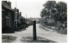 The Street Dunwich Nr Walberswick Southwold unused RP old postcard Good cond