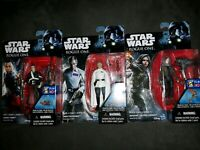 NEW Lot of 3 Star Wars Rogue One Action Figures Krennic/Jedha/Chirrut Imwe