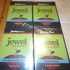 Lot of 4 Sealed Jewelry Television Instruction DVD'd Jewelry making / Beading