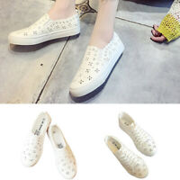Women Outdoor Wild Soft Shoes Lace Up Slip On Fashion Casual Shoes Breathable