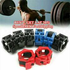2PCS 25MM/50MM Olympic Collars Barbell Dumbell Clips Clamp Weight Bar Lock NICE