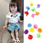 30Pcs New Fashion Mixed colors Plastic Hair Clip Baby Women Clamp 9 Style CEAU