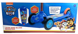 Nickelodeon PAW PATROL Lean and Glide Scooter Children's 3+ Brand New In Box