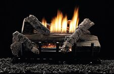 White Mountain Hearth 18-inch Whiskey River Gas Log Set Vent Free W/ Remote