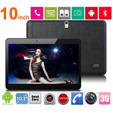 "10.1"" Tablet PC Android 4.4 Bluetooth 16GB Quad Core 3G UNLOCKED GPS Dual Sim PW"