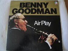 BENNY GOODMAN AIR PLAY 2X VINYL LP 1986 DOCTOR JAZZ RECORDS I WANT TO BE HAPPY