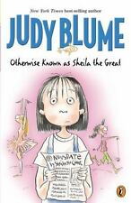 Kids Grade 2-5 paperback:Judy Blume Otherwise Known as Sheila the Great-lol fun