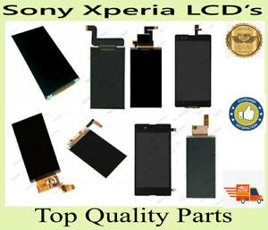 Sony Xperia C5302 C5306 St25i D2004 M2 D2203 T2 Ultra C2105 St27i Z4 Arc S LCDs