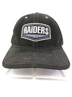 Vintage Raiders Snapback hat by Annco Spell out logo patch