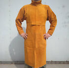Cow Split Leather Welding Aprons Heavy Duty Welder Aprons With Neck  Sleeves