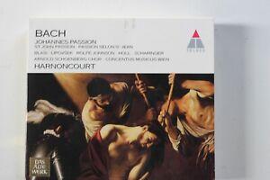 BACH johannes passion  harnoncourt 2 CD -1993