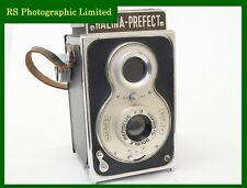 Halina prefecto 6x6 Cámara TLR con lente de menisco F8. Stock no u8335