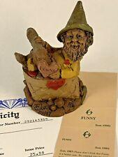 Funny 1987 Tom Clark Gnome Figurine 5001 Coa & Story 10