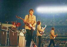 The Beatles On Stage Shea Stadium New York August 1965 Photo Print