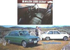 Mazda 1300 Familia Saloon 1971-72 Original UK Sales Brochure No. A47106N 102-24
