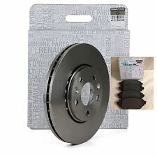 RENAULT TRAFIC III 2014 ONWARDS 1.6 GENUINE FRONT DISCS & PAD SET