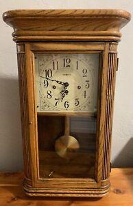 Howard Miller Clock Westminster Mantel Chime 613-108 Sandringham W/ Key Works