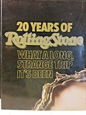 20 Years of Rolling Stone ~ What a Long, Strange Trip It's been
