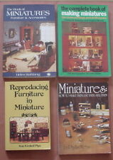 Making Miniatures ~ 4 Book Lot ~ Pb ~ Good condition