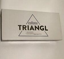 CALISTA TRIANGL Ceramic Tourmaline Detailer Hair Brush   BNIB