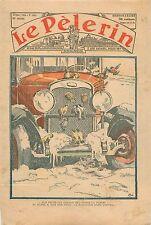 Moineaux Oiseaux Chaleur Radiateur Voiture Fiat Chrysler Automobiles 1933