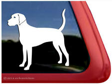 Custom Plott Hound Dog Window Decal