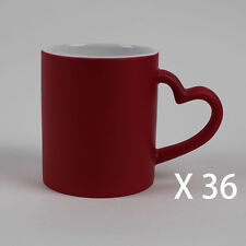 a72bccb59cf 36X6 heart colour changing Magic With Free Gift Boxes Sublimation Mugs 11oz