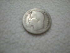 Frankreich  -  50 Centimes 1866  - Napoleon III. -  Silber