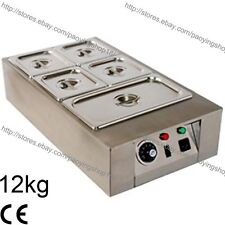 12kg Commercial Electric Chocolate Temperer Warmer Melter Machine 5 Melting Pot