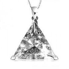 Wedding White Gold SI1 Fine Diamond Necklaces & Pendants