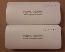 POWER BANK BATTERIA ESTERNA USB 10000 MAh PER SMARTPHONE CELLULARE TABLET CARICA
