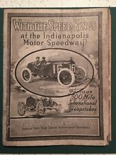 1914 Indianapolis 500 - Sears Roebuck Catalog—early auto racing and bicycles