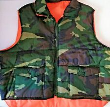 Winchester Vest XXL 2XL Reversible Hunting Camo Zip Up