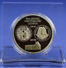 Deutschland 10 Euro-Silber-Gedenkmünze 2009 A – Uni. Leipzig -  spiegelglanz PP