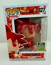 SSG GOKU #827 FUNKO POP ANIMATION SDCC 2020 SHARED EXCLUSIVE MINT IN-HAND