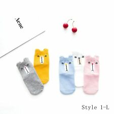 5 Pairs Unisex Kids Cartoon Soft Cotton Lovely Socks Age 1-12 Year Children Hot L 2