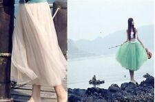 Unbranded Tulle Skirts Party Tutu for Women