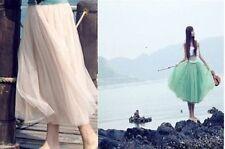 Faldas de mujer largos de tul