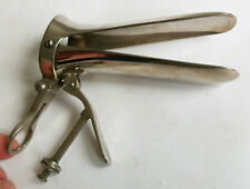 ANCIEN SPECULUM VAGINAL GYNECOLOGIE OUTIL MEDICAL MEDECINE TOOL