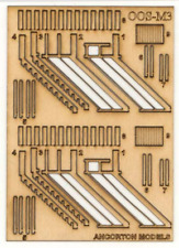 Ancorton 95741 OO Gauge Signal Box Steps Kit