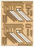 Ancorton 95741 OO Gauge Signal Box Steps Kit